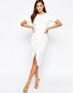 ASOS – Zweilagiges, texturiertes Kleid