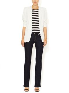 The Skinny Bootcut Jean from Denim Guide: Sizes 26
