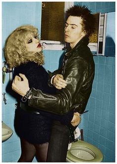 Sid and Nancy and toilet…please insert your own caption. Click on pic for more info!