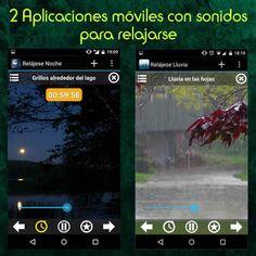 2 aplicaciones gratuitas con sonidos para relajarse #apps #relax