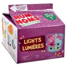 Num Noms Series 1 Lights Lumeres Mystery Blind Pack By MGA Entertainment Full Case of Sealed Cartons (+ Light Up Retail Display Box) Toy Cars For Kids, Toys For Girls, Num Noms Toys, Girl Toys Age 5, Baby Doll Accessories, Mini Things, Lol Dolls, Cool Toys, Toy Chest