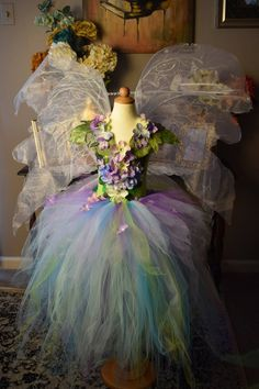 57 Last Minute Ideas to Make a Fairy Princess Halloween Costume For Your Kids - Future Life Fairy Costume Kids, Woodland Fairy Costume, Halloween Costumes, Fairy Princess Costume, Robes Tutu, Hallowen Ideas, Spring Fairy, Frozen Elsa Dress, Woodland Flowers