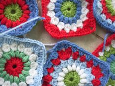 little woollie: new granny square love