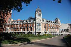 Edificio de la Compañía Asturiana de Minas (Manuel Martínez Ángel, 1891-1899).