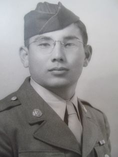 Takeshi Sasaki, who became a squad leader with Company F, RCT during World War Two American Code, American History, Japanese American, Asian American, Hot Tub Time Machine, Project 100, Tuskegee Airmen, Before Us, World War Two