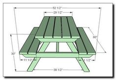 Want splines to strengthen your mitered corners? This jig makes it easy. ** To view further for this article, visit the image link. #woodworkingjigs Toddler Picnic Table, Kids Picnic Table Plans, Build A Picnic Table, Pallet Picnic Tables, Wood Tables, Dining Tables, Side Tables, Coffee Tables, Outdoor Projects