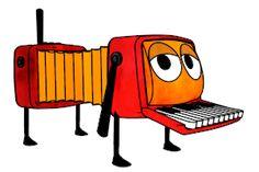 Hark the accordion