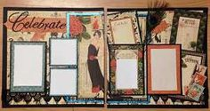 Celebrate in style.  Those fabulous photos from your most sophisticated celebration are perfect for this project.  Using Graphic 45 papers, glitter papers, and even a peacock feather!  Yes, it is all included in this kit, along with instructions for assembly.      Visit Scrap & Bean.com for more scrapbooking kits.