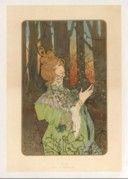 [Le Gui et le Houx] : [panneaux décoratifs] / JAtché 1899