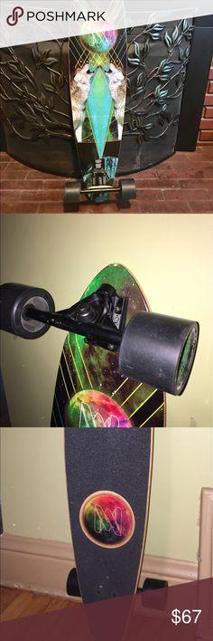 """Mercer skateboard longboard Get there in style😁 Mercer Space Wolf 37.5"""" Complete Longboard mercer Other"""