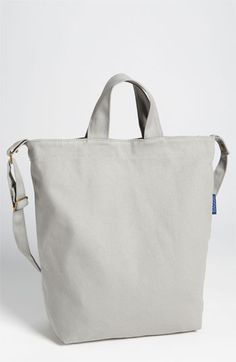 Baggu® Canvas Tote $24 -- just go simple?