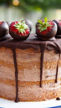 Ice Cream Naked Cake