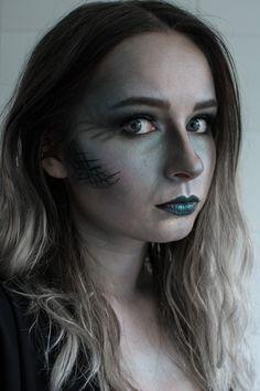 Ghost Evil Mermaid Makeup Halloween Tutorial | Video