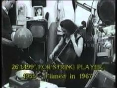 American Masters John Cage- I Have Nothing to Say and I Am Saying It - YouTube