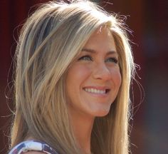 Jennifer Aniston  I like the length of the bangs and the color