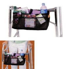 WALKER BASKET (MESH AND NYLON WITH BEVERAGE HOLDER)