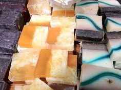 Homemade soap recipes & tips