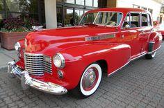 1941 Cadillac Fleetwood Sixty Special 4-dr. sedan