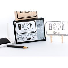 Place Card Stamp Kit