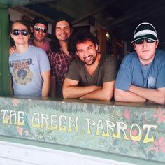 We survived 3 nights at #thegreenparrotbar in #keywest #florida! #tour #tourlife #goodtimes #musician