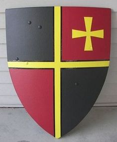 Medieval Heater and Kite Shield How to Project