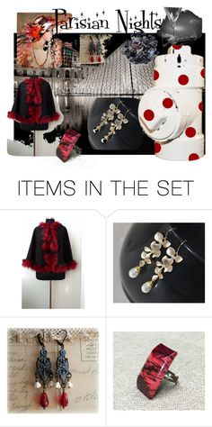 """""""Parisian Nights"""" by mariannemerceria ❤ liked on Polyvore featuring art, paris, petlover and integrityTT"""