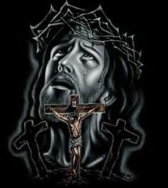 Foto de Jesus crucificado