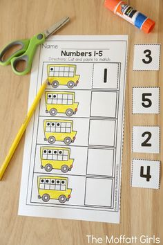 Teach number concepts, colors, shapes, letters, phonics and so much more with the September NO PREP Packet for Preschool!