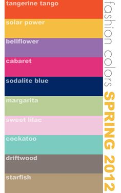 official PANTONE colors, but the palette is made by me {janka}