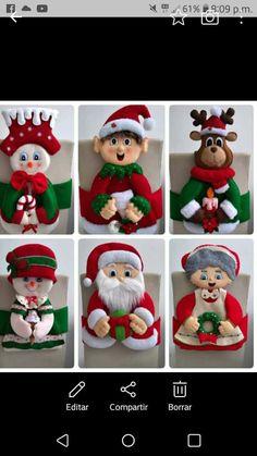 Felt Christmas Ornaments, Elf On The Shelf, Felting, Biscuit, Holiday Decor, Home Decor, Christmas Ornaments, Xmas Decorations, Christmas Crafts