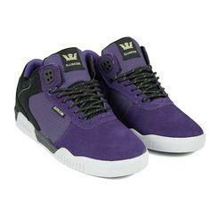 SUPRA ELLINGTON BLACK/PURPLE/WHITE MENS SHOES    £66.95     Buy Here: http://www.blacksheepstore.co.uk/supra-ellington-black-purple-white-mens-shoes.html