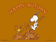 Snoppy Happy Autumn