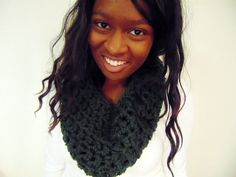 why you love this cowl // -matches the signature fall and winter color scheme -keeps you snug in the winter wind with the thick wool fibers -is