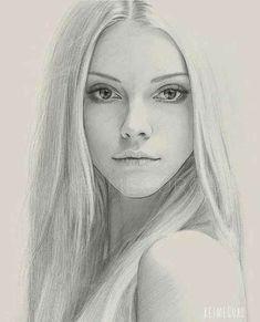 Portrait Au Crayon, Pencil Portrait, Portrait Art, Portrait Photo, Photo Art, Pencil Art Drawings, Realistic Drawings, Art Drawings Sketches, Rose Drawings