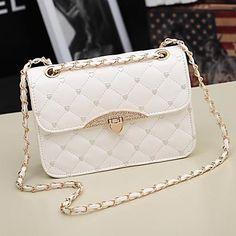 Women's PU Leather Messenger Handbag Shoulder Bag Totes Purse – EUR € 6.96