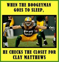 Clay Matthews #52Matthews #packernation #greenbaypackers