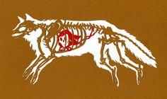 Paper Animal Insides by Wendy Wallin Malinow   Beautiful/Decay Artist & Design