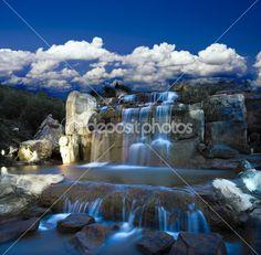 Fantazie vodopád — Stock obrázek #20799267