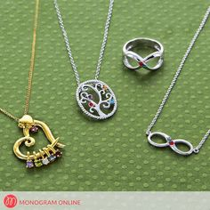 Take a look at our Birthstone Jewelry. Shop Now! Name Necklace, Washer Necklace, Arrow Necklace, Pendant Necklace, Monogram Online, Birthstone Jewelry, Birthstones, Shop Now, Take That