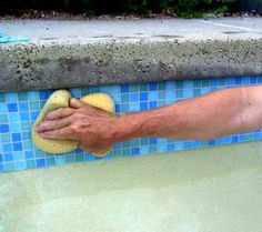 Cleaning Water Line Tile in Swimming Pool - The Best Way to Clean Waterline Tile in Pool