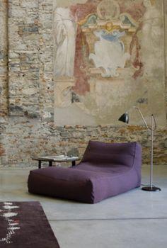 CASE Design and Advice - Verzelloni Zoe Chaise Longue beanbag