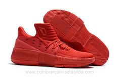 cheap for discount d96c6 7690b Zapatillas baloncesto baratas Adidas rojo Damian Lillard III hombre Cheap  Nike, Nike Shoes Cheap,