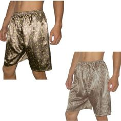 (Pack of 2)SILK COUTURE Mens Sleepwear Silk Pajama Lounge Shorts M-L Multicolor Made of a superior fabric: 90% silk & 10% micro-fiber.. You will receive 2 mens silk boxer shorts by SILK COUTURE - colors as pictured.. Fabric covered elastic waistband for added comfort.. Flyless boxer; Center back seam for a more defined fit; One rear pocket for storage..  #SILKCOUTURE #Apparel