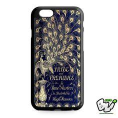 Book Blue Cover Jane Austen iPhone 6 Case   iPhone 6S Case