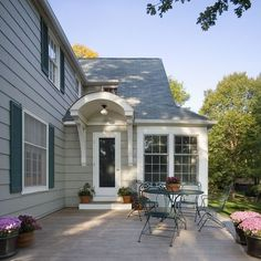 Exterior Colonial Home Additions Design Pictures Remodel Decor And