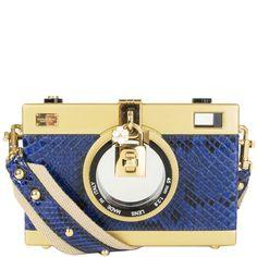 Dolce & Gabbana Camera Bag Dior Mini Bag, Quilted Tote Bags, Royal Blue And Gold, Burberry Prorsum, Camera Case, Python, Crossbody Bag, Artsy, Shoulder Bag