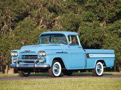 1958 Chevrolet Apache 3-1 Cameo Fleetside Pickup