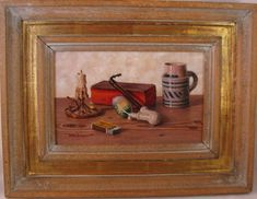 Oswald Eichinger (Born German Still Life With Fruit Oil / PanelThis painting was part of the Hancock Park estate. The only information I could find on Eichinger was that he was born in 1915 in G. Still Life Fruit, Selling Antiques, Be Still, Vintage Items, German, Auction, Oil, Painting, Art