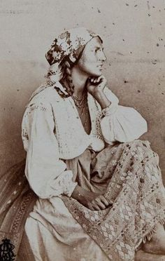 Gypsy, by Carol Popp de Szathmary ( 11 January Cluj, Principality of Transylvania, Austrian Empire (now Romania) - d.