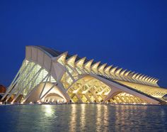 Santiago Calatrava...this was inspired by his wife's eyes:) awww